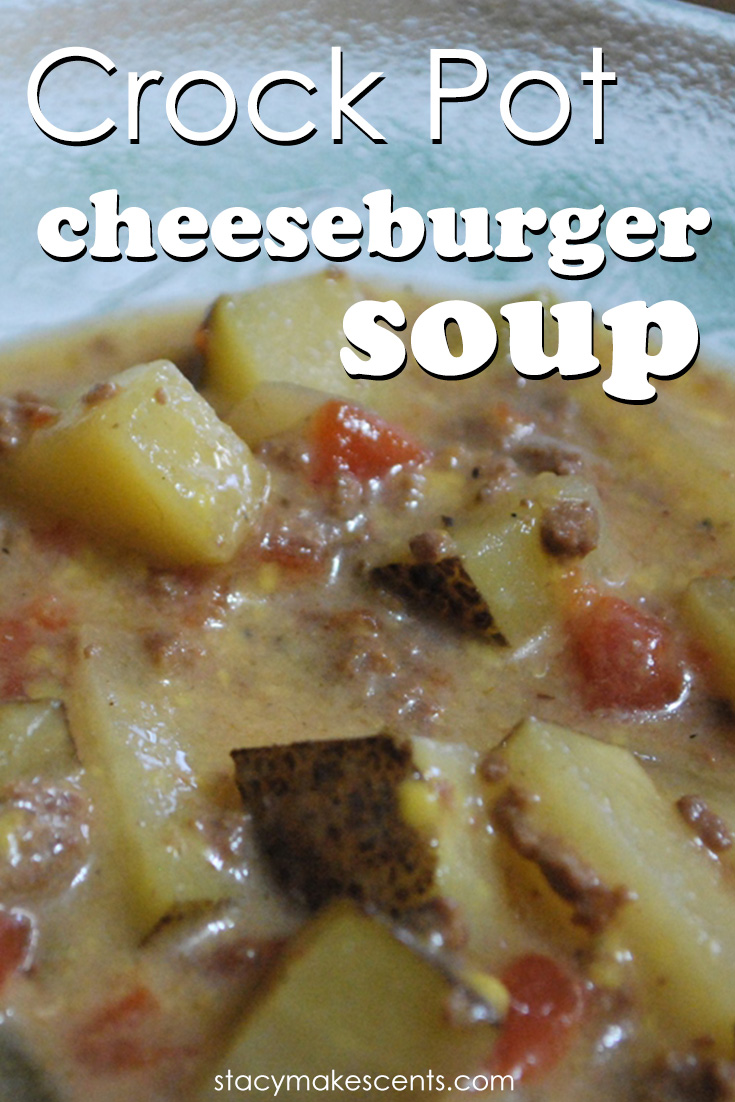 The amazing flavors of a classic cheeseburger in a delicious crockpot soup! This is cozy comfort food you'll crave all year long!
