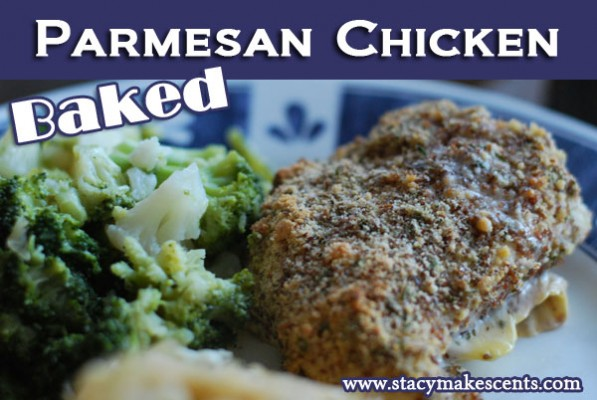 It's not fried, it's baked! But it's soooo good! Go out and make this Baked Parmesan Chicken TODAY!