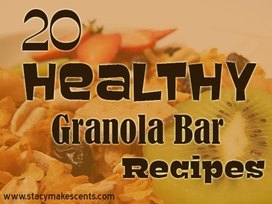Are Caveman Bars Healthy : Healthy granola bar recipes humorous homemaking