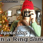 Babywearing with a Ring Sling