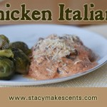This Chicken Italiano is a super versatile dish that is great served over rice or even by itself.