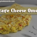 Even if you have a cottage cheese hater, they'll never even realize it when they try this Cottage Cheese Omelet. Make your tummy happy today.