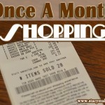 Once a Month Shopping