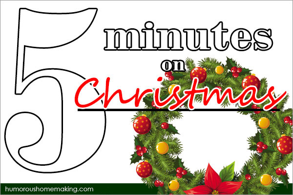 5 minutes on Christmas