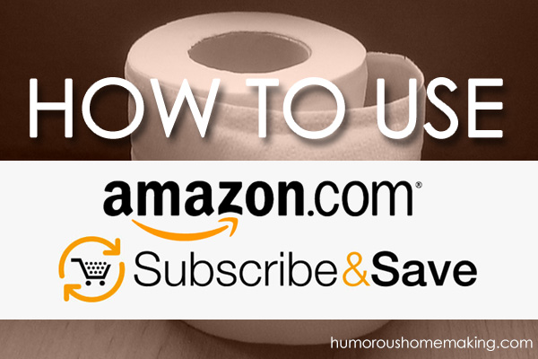 Learn how the Subscribe and Save feature on Amazon.com can save you big bucks!