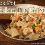 All of the delicious flavors of Chicken Pot Pie without all of the hassle. It's the perfect option for an easy dinner since it's made in the crockpot.