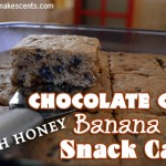 Chocolate Chip Banana Snack Cake