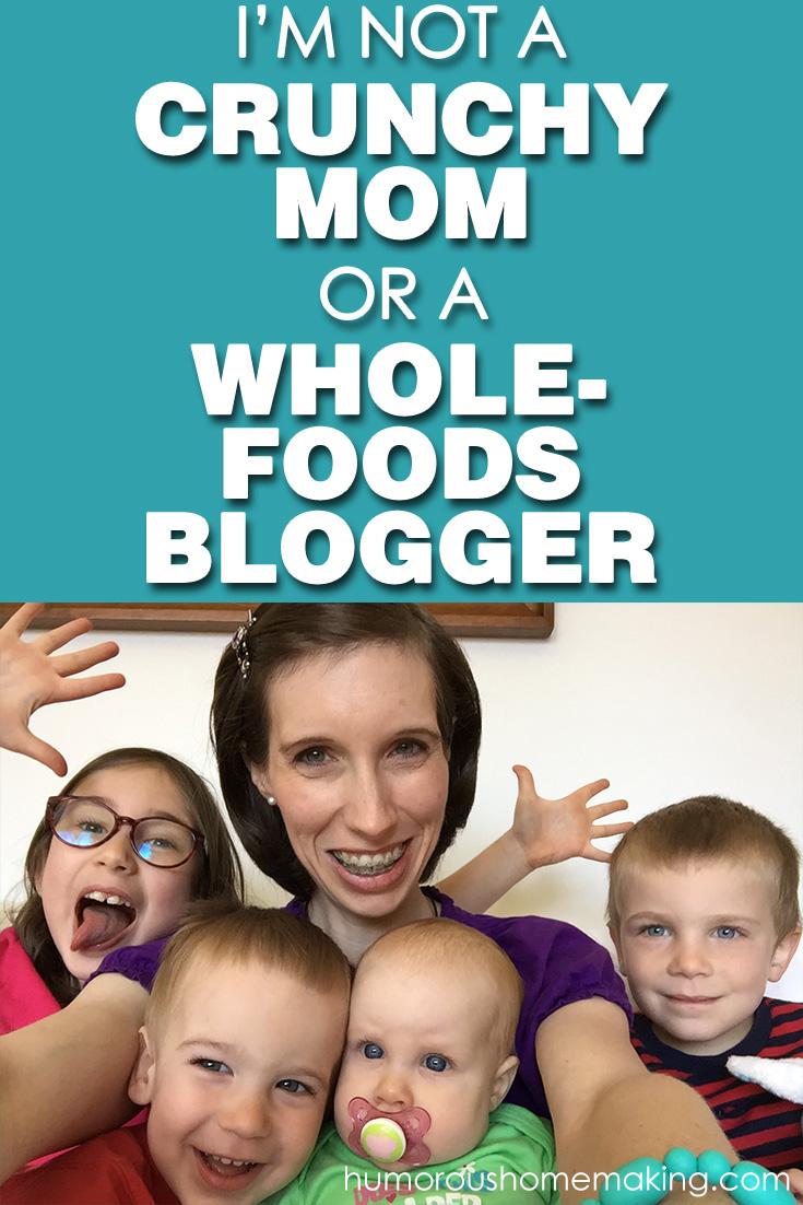 not a crunchy mom