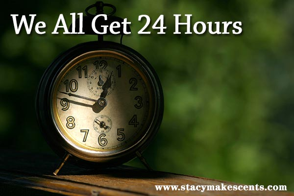 we all get 24 hours