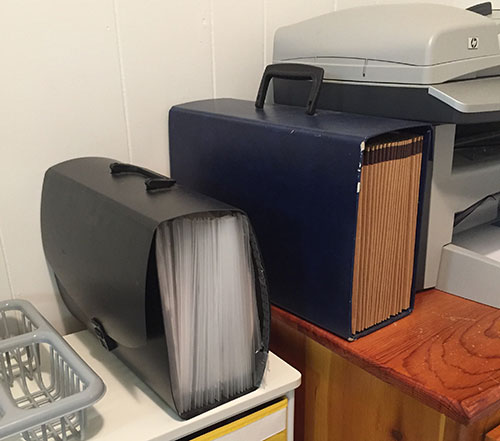 accordion files