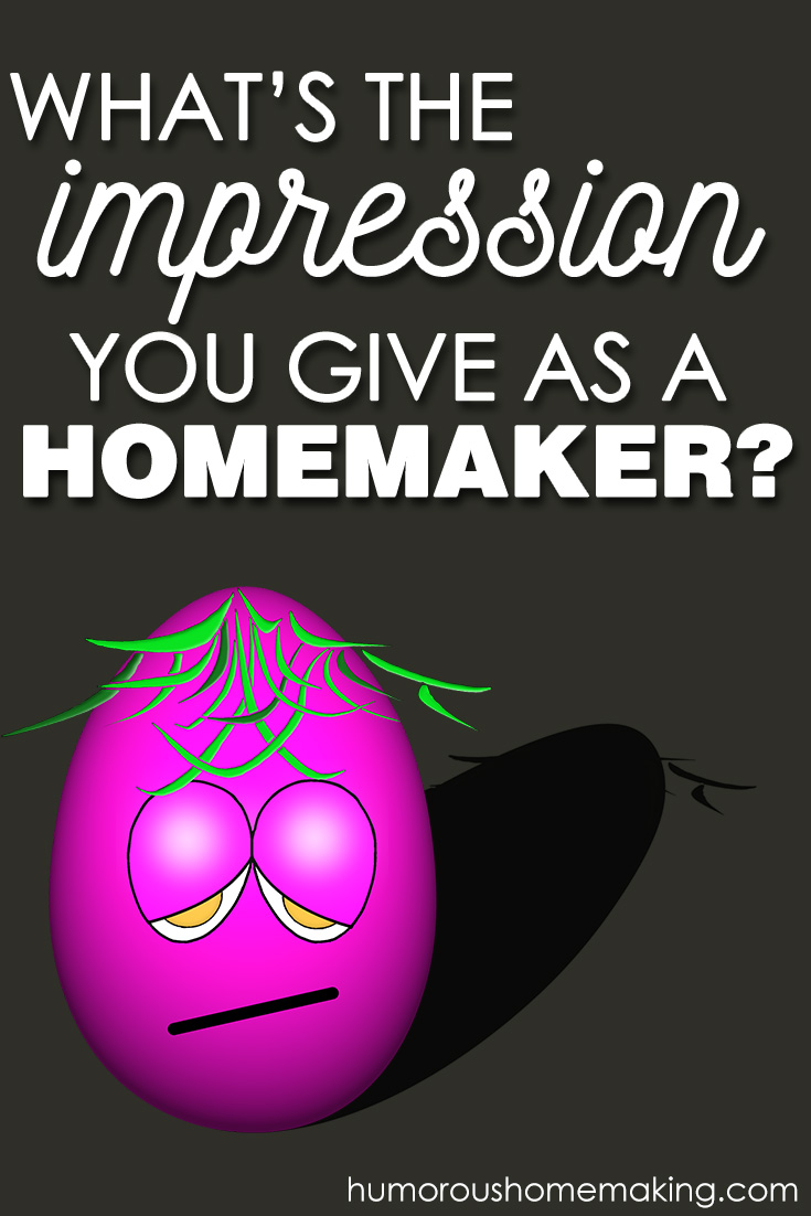 What 39 S The Impression You Give As A Homemaker Humorous