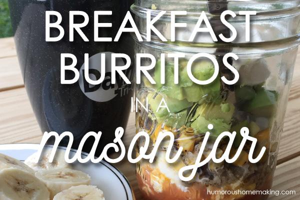 Breakfast Burritos in a Jar
