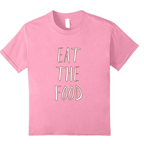 eat the food