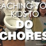 teaching kids to do chores