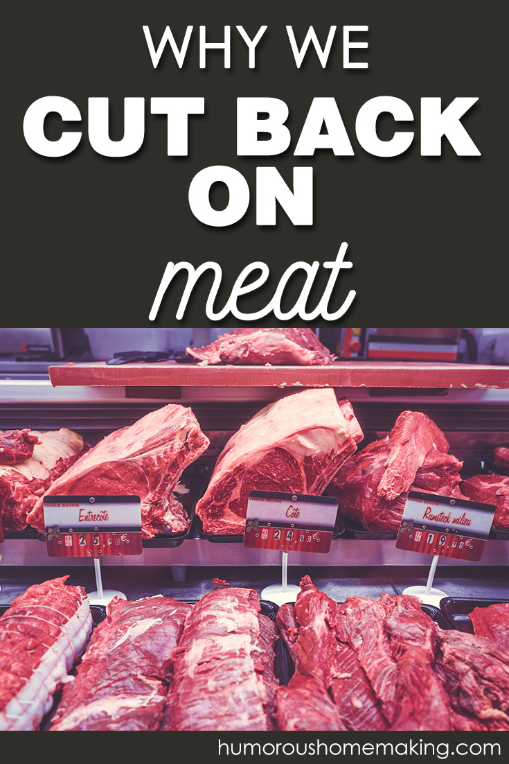 why we cut back on meat