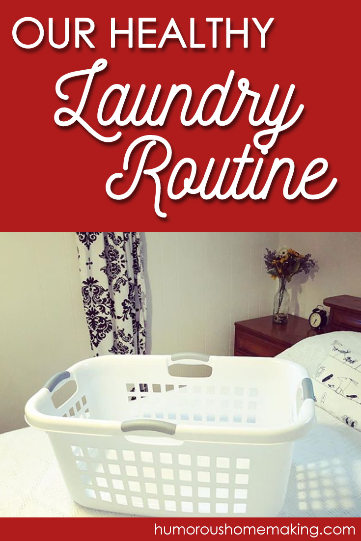 healthy laundry routine
