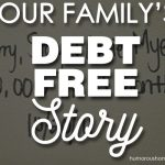 Our Family's Debt-Free Story