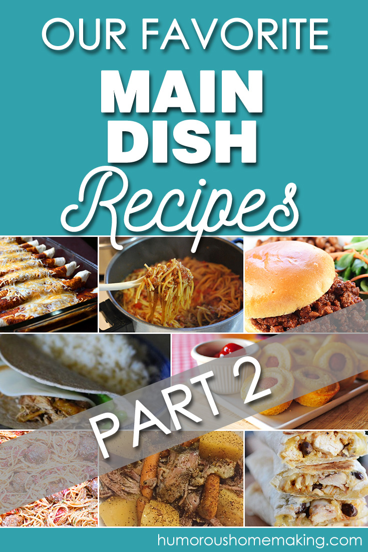 favorite main dish recipes