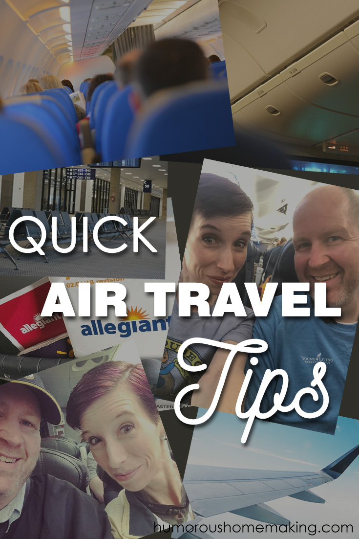 air travel tips