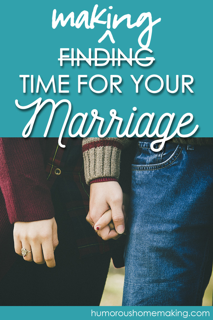 finding time for marriage