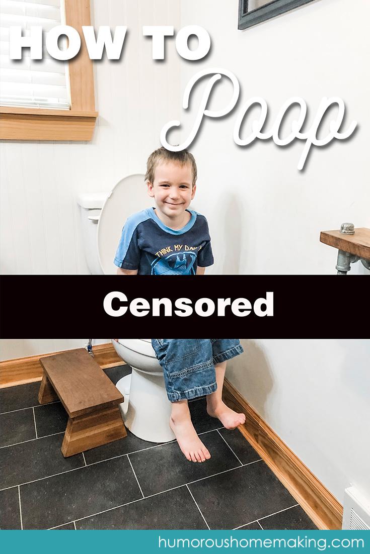 kid can't poop