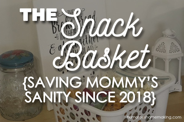 snack basket for kids