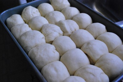 how to make dinner rolls without yeast