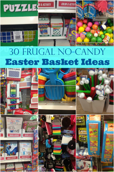 Frugal no candy easter basket ideas humorous homemaking 30 frugal no candy easter basket ideas negle Choice Image