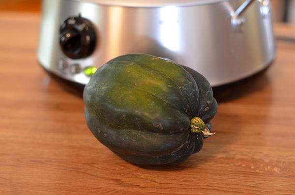Crock Pot Stuffed Acorn Squash