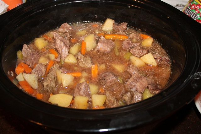how to make beef stew out of leftover roast