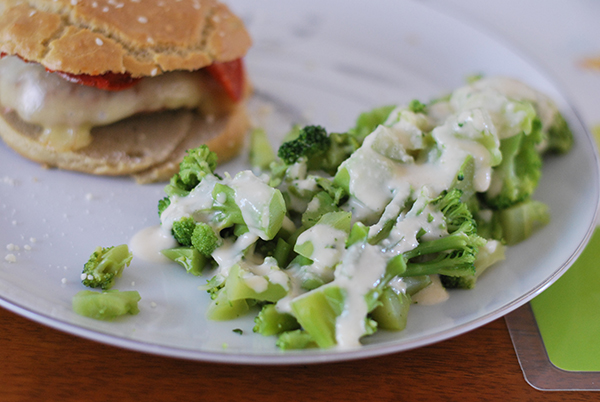 Vegetable Cheese Sauce