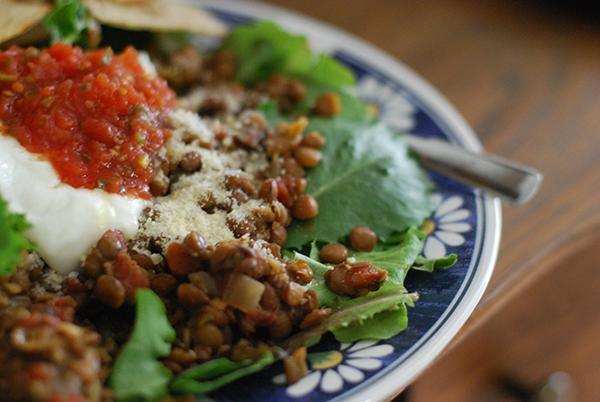 Lentil Burrito Bowls