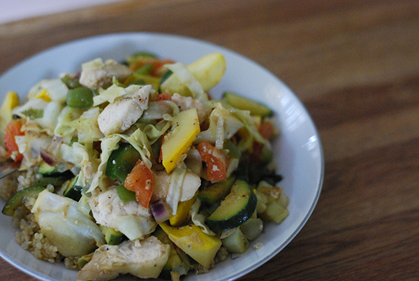 Trim Healthy Tuesday: Summer Stir Fry (E) - Stacy Makes Cents