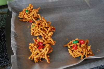 Christmas Candy Haystacks Humorous Homemaking