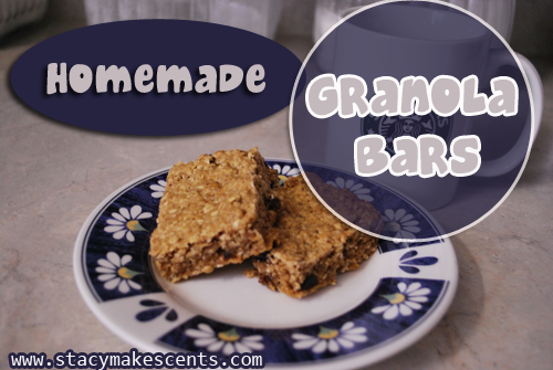 Homemade Granola-Bars