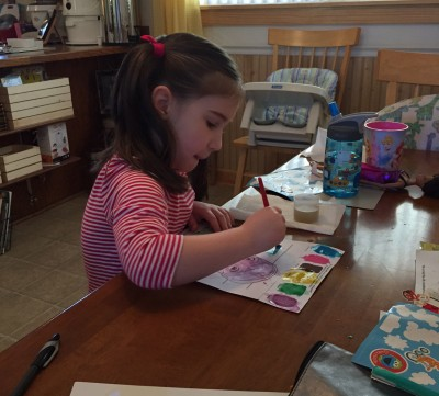 Annie coloring