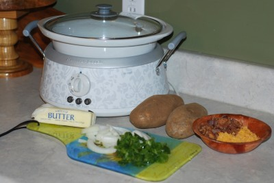 Crockpot Potato Breakfast. Wake up to breakfast all ready to go for you in the morning!