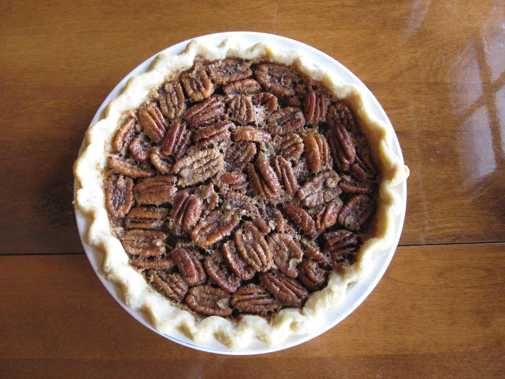 Maple Pecan Pie - Stacy Makes Cents