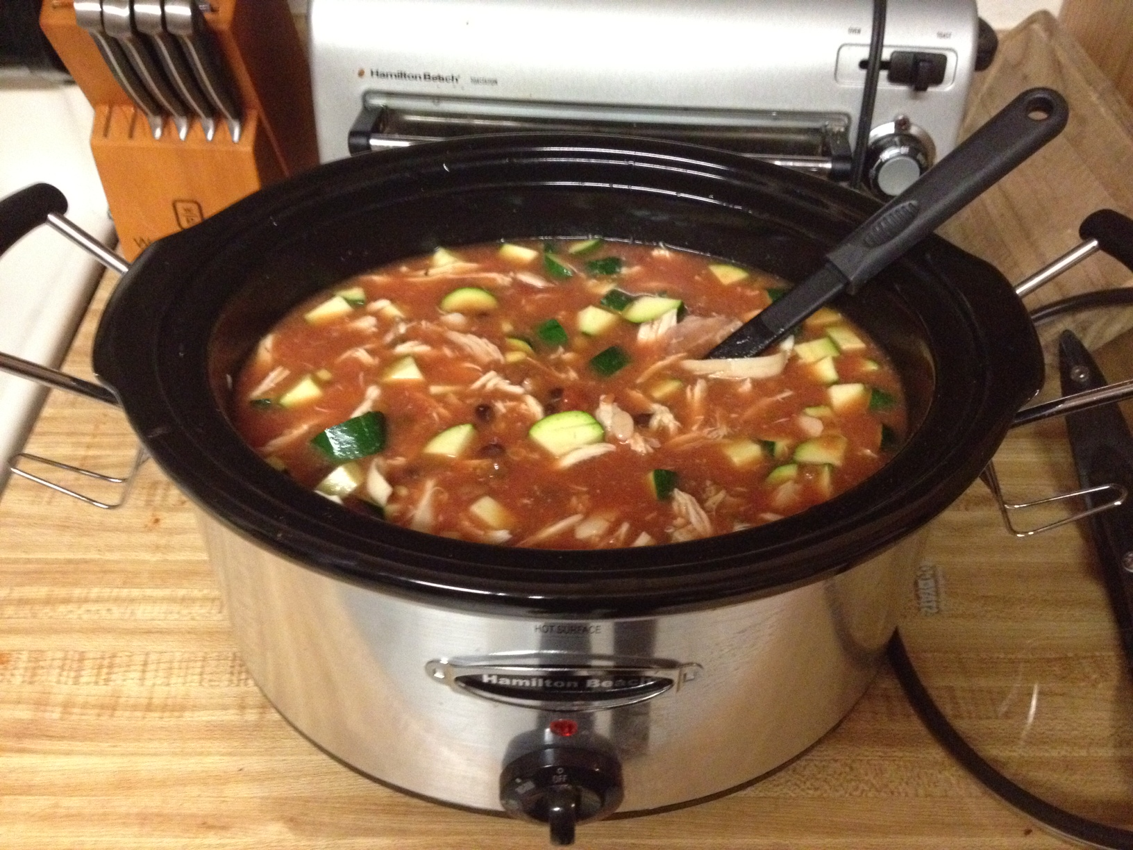 Crock pot mexican chicken chili humorous homemaking crock pot mexican chicken chili forumfinder Choice Image