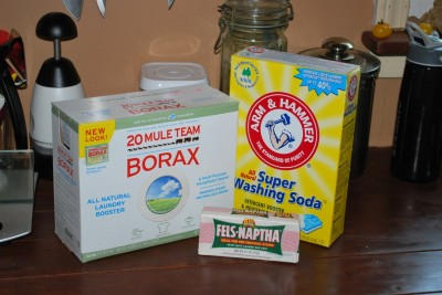 Needed6 400x267 Homemade Liquid Laundry Detergent