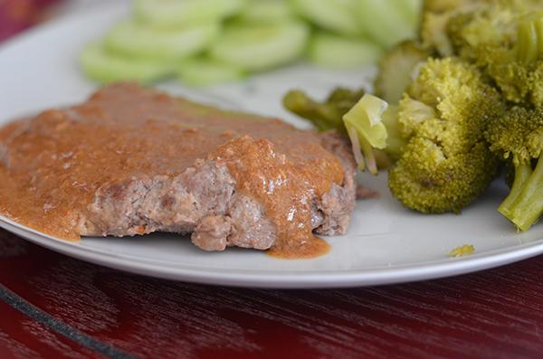 Plated Chicken Fried Steak