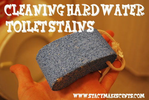 Cleaning Hard Water Toilet Stains