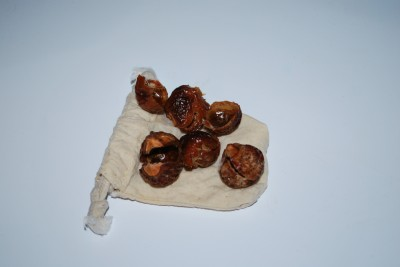 Soap Nuts after laundering