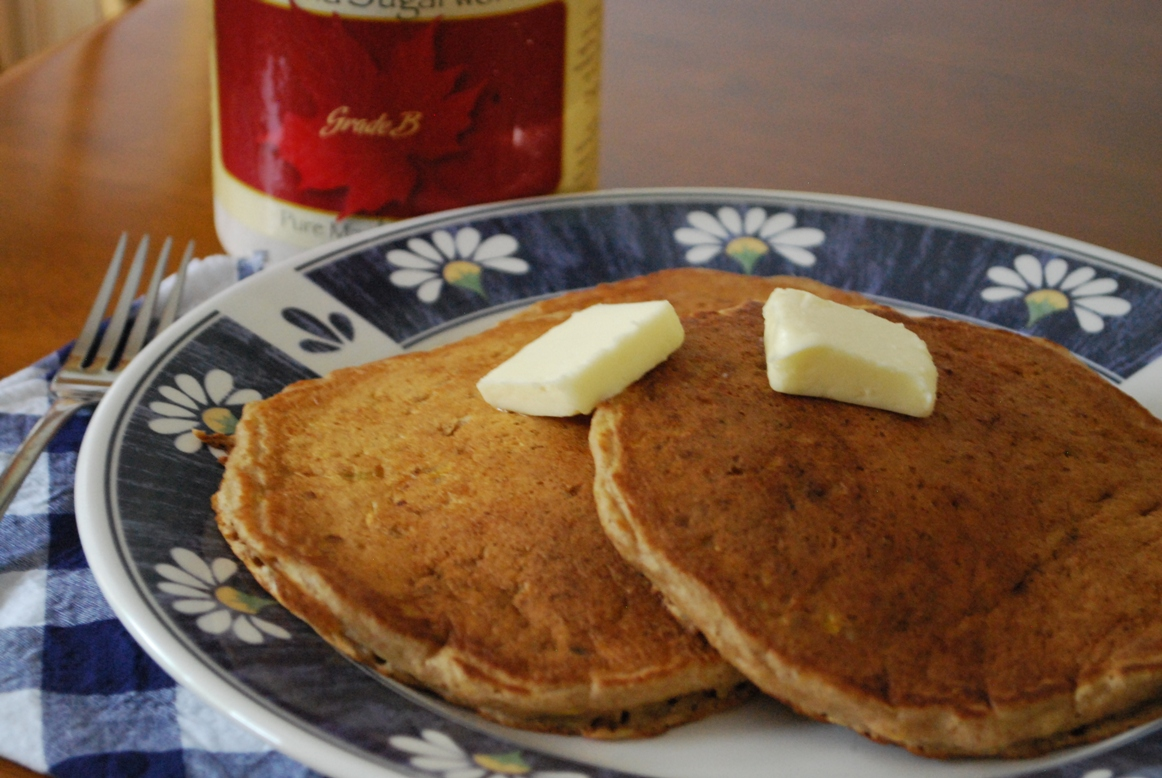 Summer Squash Pancakes - Stacy Makes Cents