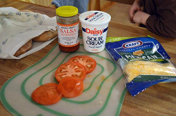Pick-Pocket-Tacos : Tacos using pitas instead of shells