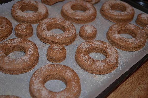 whole wheat doughnut scones