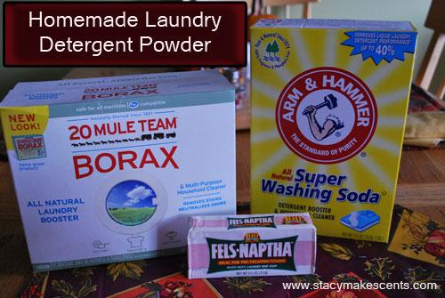 Homemade Powder Laundry Detergent - Humorous Homemaking